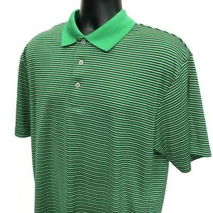 Fairway Outfitters Polo Shirt Mens  L Large Green